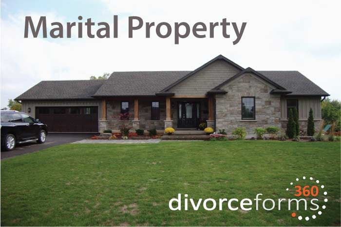 Canada divorce marital property