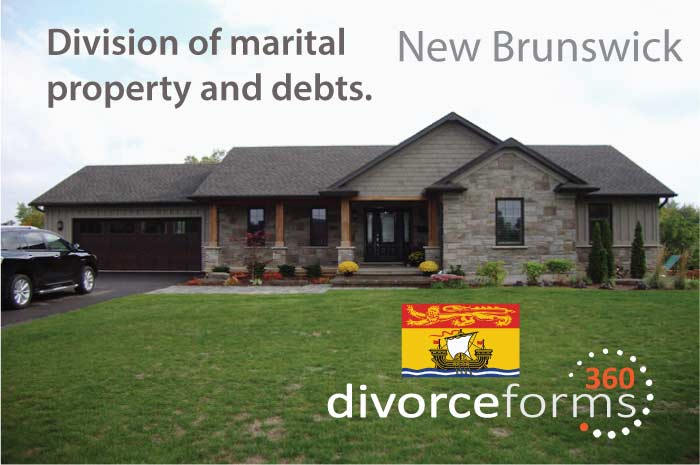 New Brunswick divorce forms