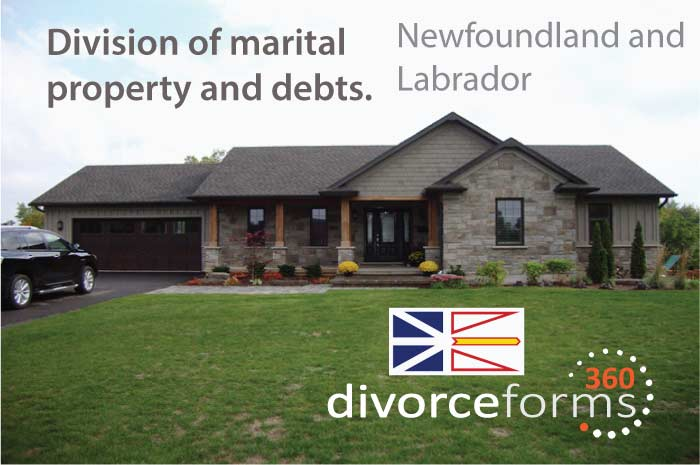 Newfoundland and Labrador divorce forms