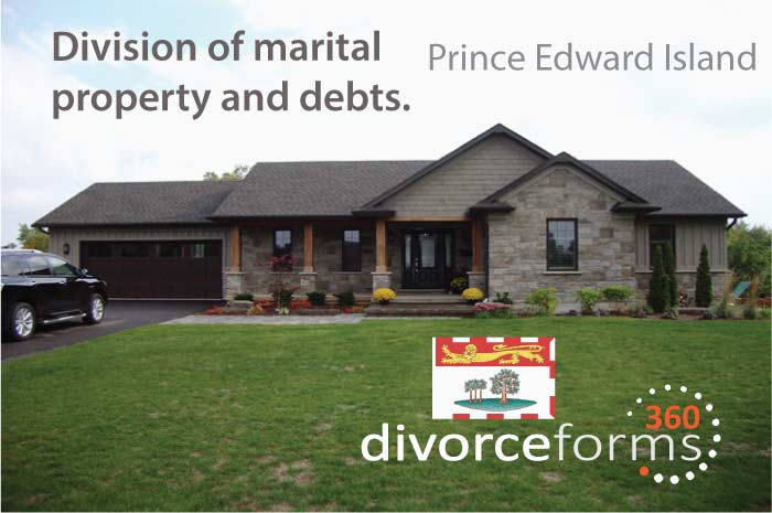PEI divorce forms Canada